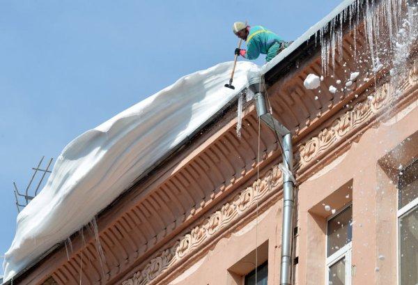 Очистка кровли от снега и наледи форма договора